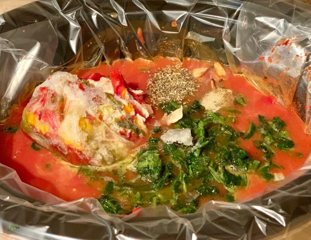 Lazy ravioli soup ingrediants
