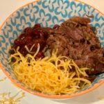 Beef barbacoa bowl