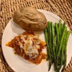 Slow cooker/ crock-pot chicken parmesean