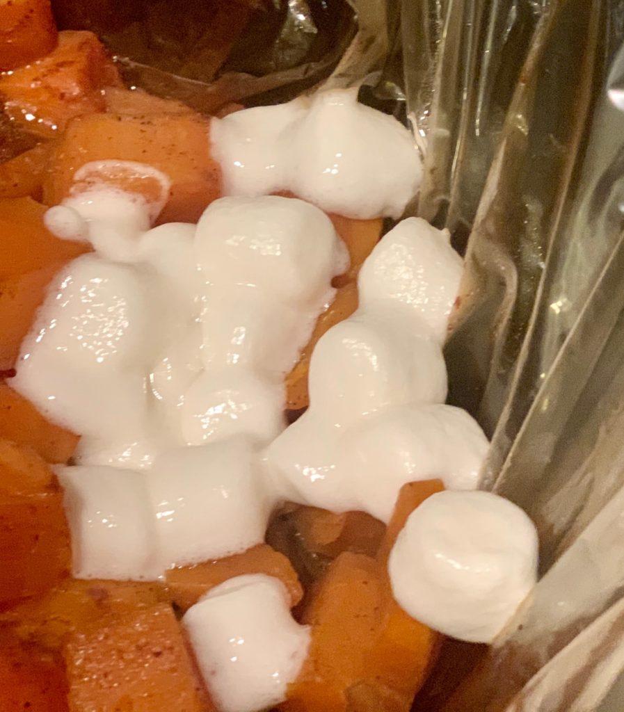 candied sweet potato in crockpot
