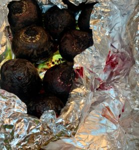 Lazy Slow Cooker Roasted Beets. The Easiest Way to Make Roasted Beets