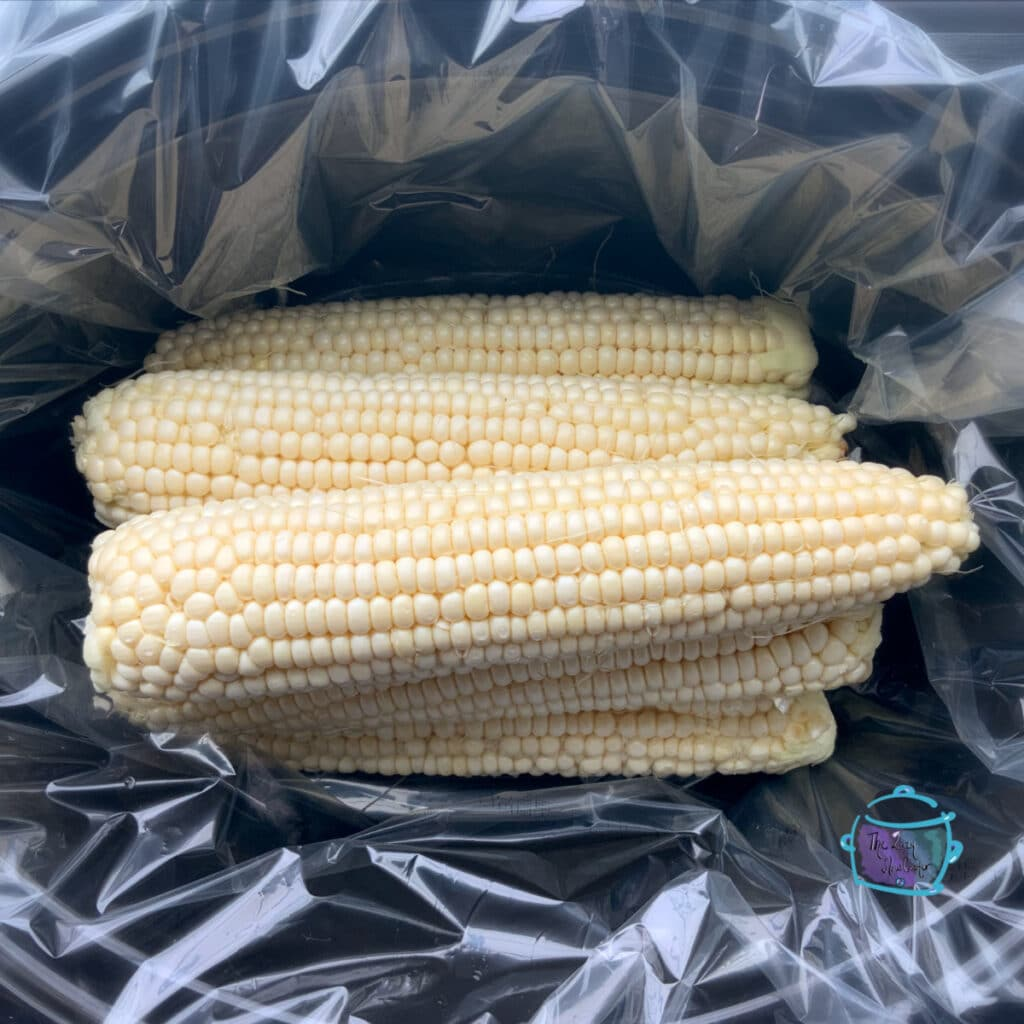 raw corn on the cob in slow cooker