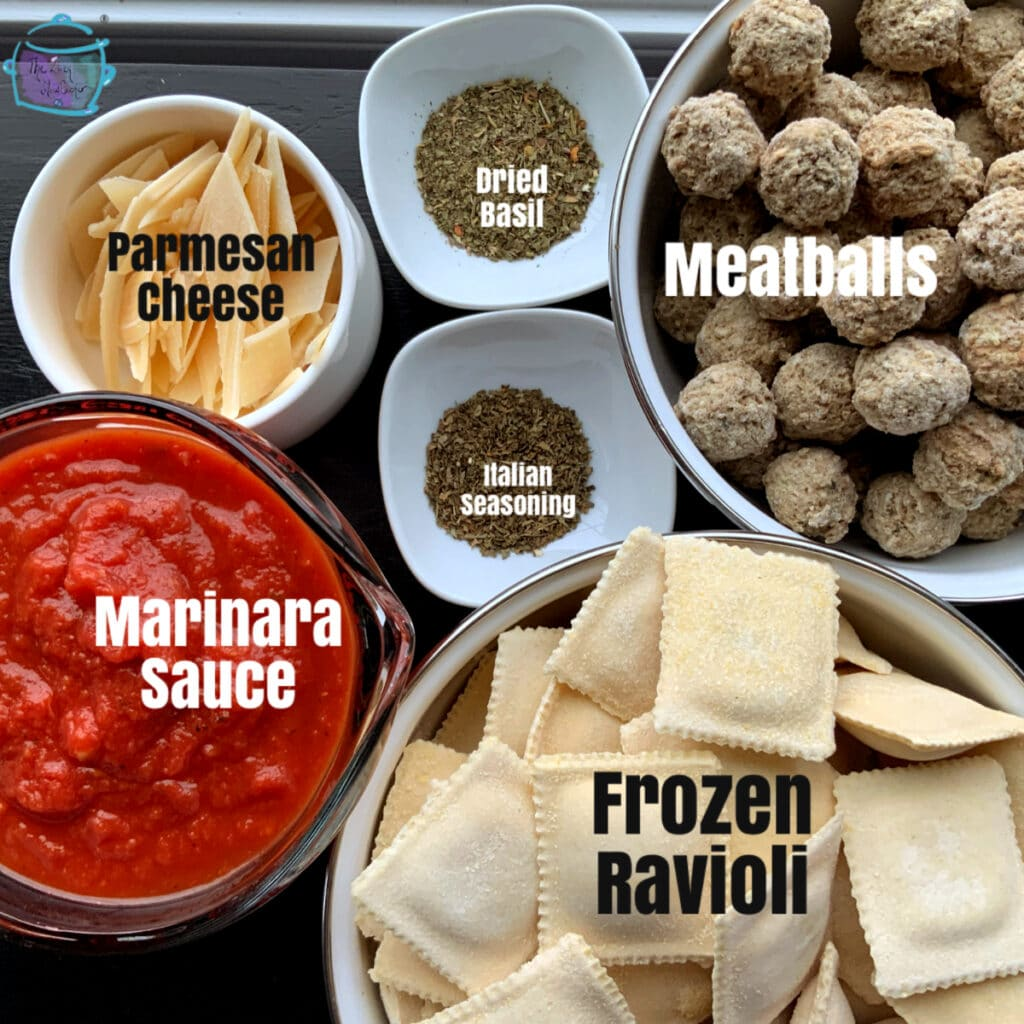 All ingredients with labels