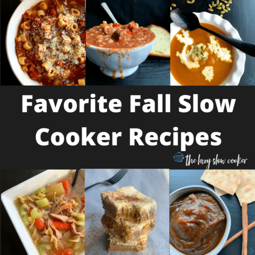 a collage of some of the best fall dishes